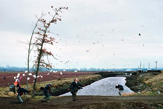 A Sudden Gust of Wind - Jeff Wall