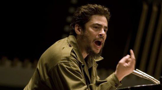 Benecio del Toro as Che Guevara in 'Che'