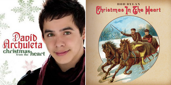 war david archuleta to challenge bob dylan with identical christmas album