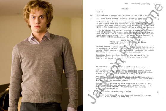 twilight 3 script leaked by negligent vampire vulture