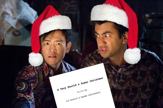Harold And Kumar Christmas.A Very Harold And Kumar Christmas Adds Three Guys You