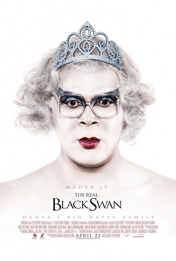 See tyler perry s madea as the real black swan vulture