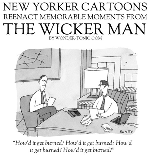 See Scenes From Wicker Man Reimagined As New Yorker