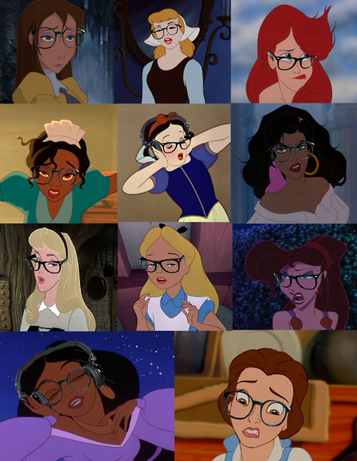 See All the Disney Princesses Reinvented As Snarky Hipsters