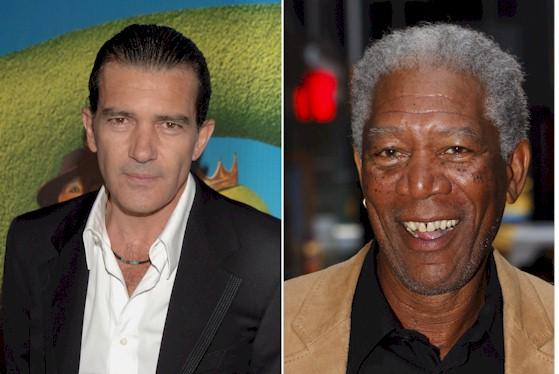 Antonio Banderas And Morgan Freeman Crack The Code