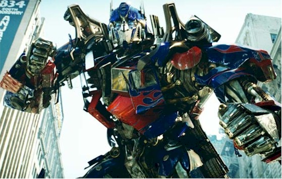 Transformers Three Optimus Prime.