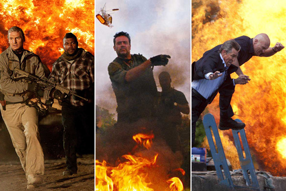 Which of 2010's Identical-Seeming Mercenary Movies Is Right for You