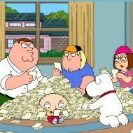 Family guy lottery fever