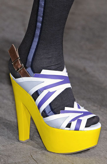 But we've always wanted bright-yellow platforms!