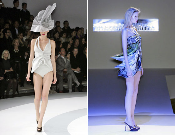 Hussein Chalayan's silicone dresses reminded everyone that fashion is truly an art form.