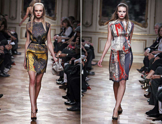 Miu Miu's prints were amazing. We loved the dresses and can't wait to get our hands on these come spring.