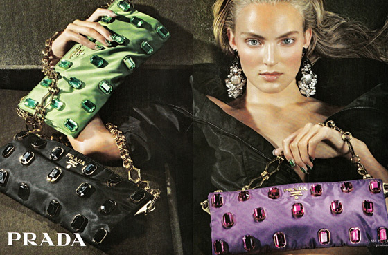 Steven Meisel shot Ymre Stiekema for Prada. But is she the new Sasha Pivovarova?