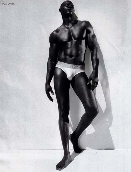 In August 2007, Djimon Hounsou's Calvin Klein ads made us blush. And made many feel a bit ... inadequate.