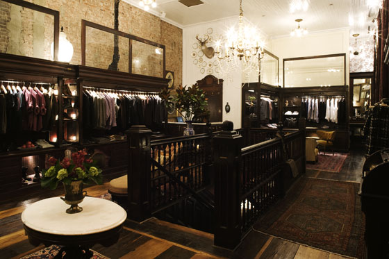 The store offers up plenty of mens- and womenswear.