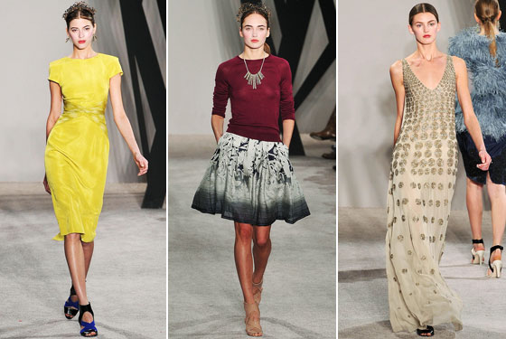 "<a href=""http://nymag.com/fashion/fashionshows/2009/fall/main/newyork/womenrunway/jasonwu/"">Jason Wu</a> was the man to watch last week, and he didn't disappoint. He showed classic American clothes in bright colors and patterns -- perfect for a First Lady."