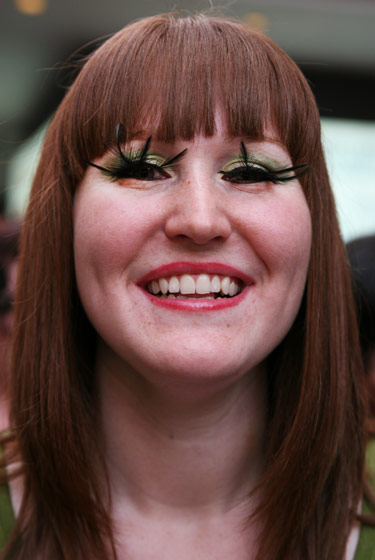 <strong>Amanda Stocker, 22, a student from Staten Island</strong> 