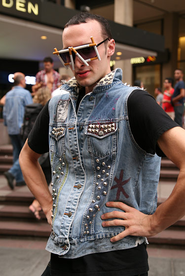 <strong>Zack Ivins, 20, a banker from West Long Branch, New Jersey</strong> 