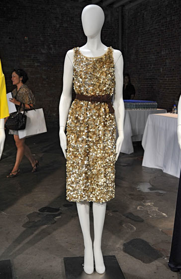 Gold sequins from Jenni Kayne
