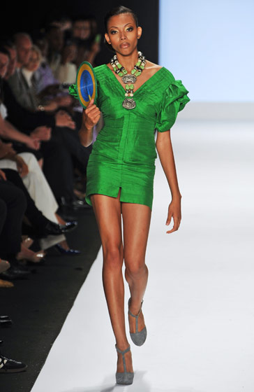 Bianca Golden was one of the last girls booted from cycle nine but walked for Korto in the <em>Runway</em> finale.