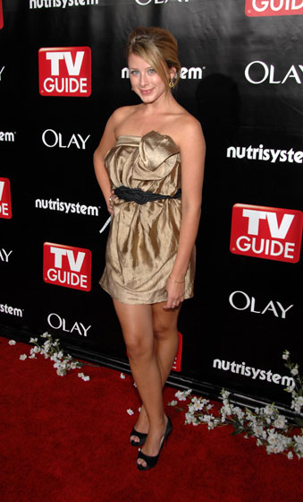 Settle down -- you didn't miss Lo at the Emmys (like she was invited). But you might have missed her at the <em>TV Guide</em> after-party, where she wore the same kind of loose short dress she always wears.