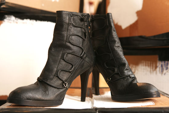 LD Tuttle black ankle boot, $175.
