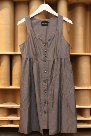Rhys Dwfen gray babydoll dress, $65.