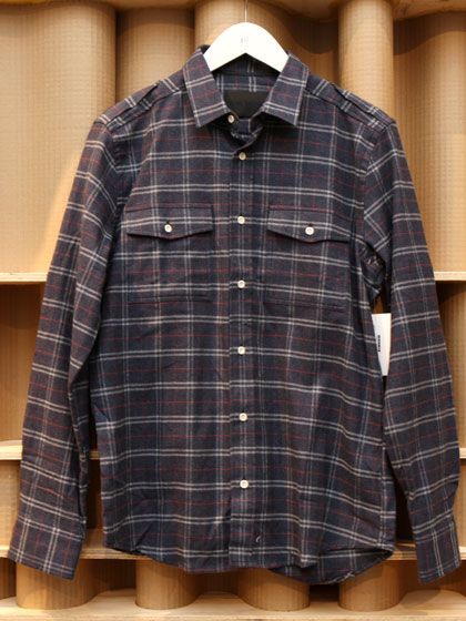Idol Radec plaid shirt, $80.