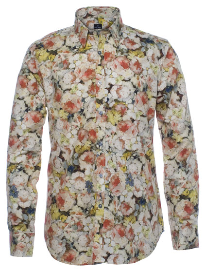 "PS by <a href=""http://nymag.com/listings/stores/saks_fifth_avenue/"">Paul Smith</a> slim-fit summer-floral shirt, $295 at <a href=""http://nymag.com/listings/stores/Paul-Smith02/"">Paul Smith</a>."