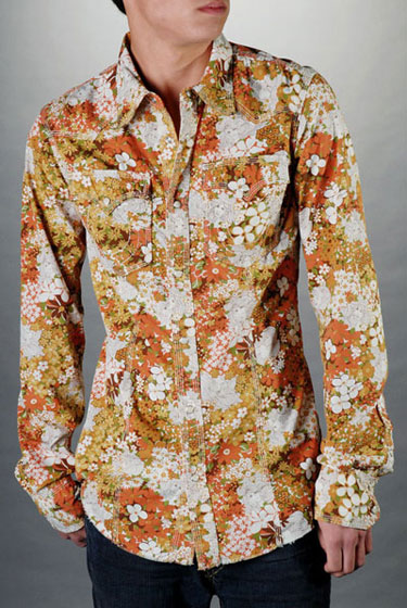"True Religion Psychedelic Western shirt, $136 at <a href=""http://nymag.com/listings/stores/true-religion-jeans01/"">True Religion</a>."