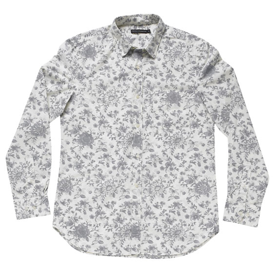 "French Connection Simon floral shirt, $88 at <a href=""http://nymag.com/listings/beauty/french_connection02/"">French Connection</a>."