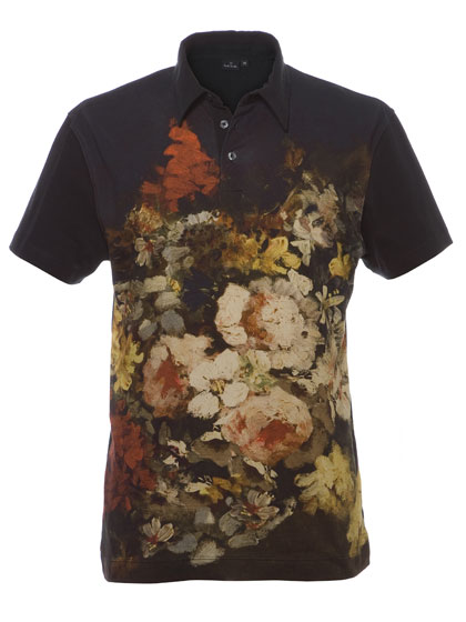 "PS by <a href=""http://nymag.com/listings/stores/saks_fifth_avenue/"">Paul Smith</a> floral-print polo, $210 at <a href=""http://nymag.com/listings/stores/Paul-Smith02/"">Paul Smith</a>."