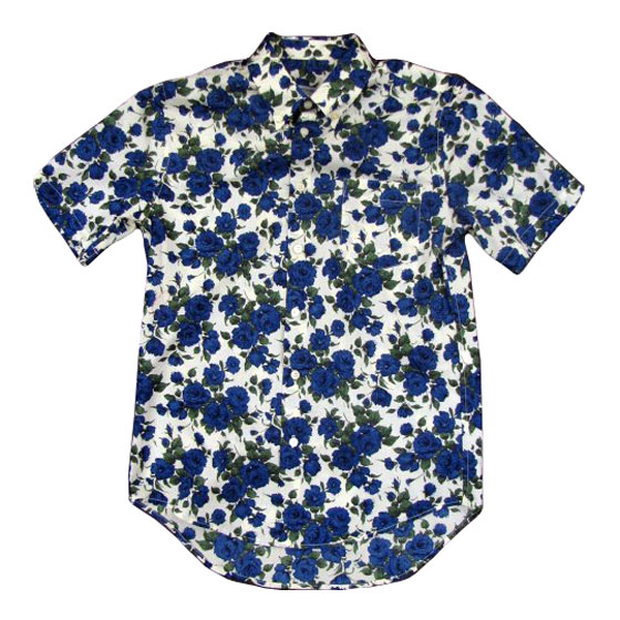 "Opening Ceremony beige floral-print shirt, $290 at <a href=""http://nymag.com/listings/stores/Bblessing/"">Bblessing</a>."