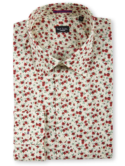 "<a href=""http://nymag.com/listings/stores/saks_fifth_avenue/"">Paul Smith</a> London slim-fit formal shirt, $285 at <a href=""http://nymag.com/listings/stores/Paul-Smith02/"">Paul Smith</a>."