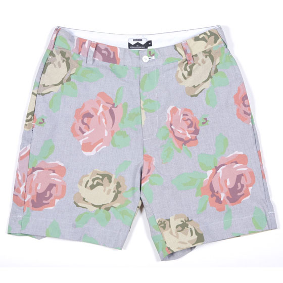 "Pegleg Oxford floral shorts, $150 at <a href=""http://nymag.com/listings/stores/opening-ceremony/"">Opening Ceremony</a>."
