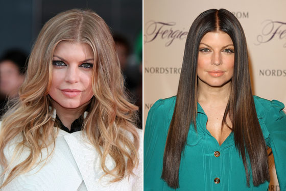 We know that whole goth-<em>Twilight</em> thing is very au courant right now, but Fergie doesn't need to be jumping on anyone's bandwagon, much less one that somehow manages to make her look both older and meaner. Her original look wasn't broke, so why did she try to fix it? <strong>Grade: D</strong>