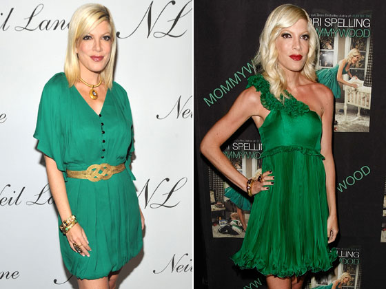We aren't going to speculate on the surely myriad reasons Tori Spelling has morphed from looking like the Donna Martin of yore to looking like Donna Martin after a long spell in a Turkish prison. We'll just send her a subscription to the Sandwich of the Month Club and hope for the best. <strong>Grade: D+</strong>