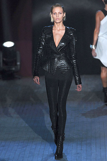 "<a href=""http://nymag.com/fashion/fashionshows/2009/fall/main/newyork/womenrunway/alexanderwang/"">Alexander Wang</a>: A jacket can double as a top."