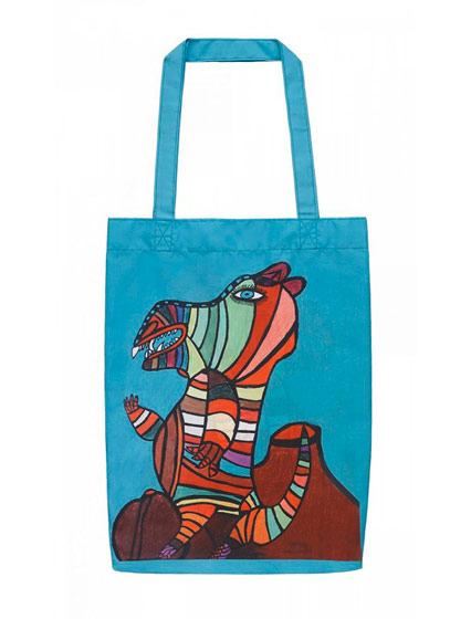 Creative Growth Nylon Ecobag by Louis Estape, $19.