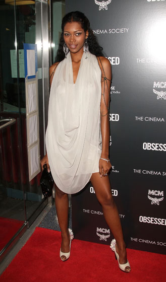 Jessica White, even those as genetically blessed as yourself cannot fasten a sheet around your neck with a shoelace and call it a dress.