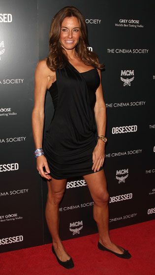 Kelly Bensimon looks tan and buff as usual.