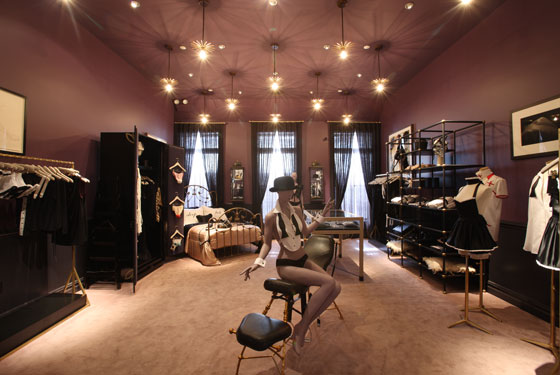 The Kiki de Montparnasse boudoir, which will be devoted to evening gowns.