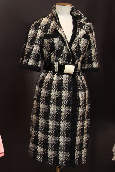 Chanel knit coat, $3,700.