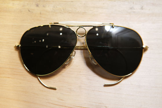 Selima for J.Crew aviator sunglasses, $198.