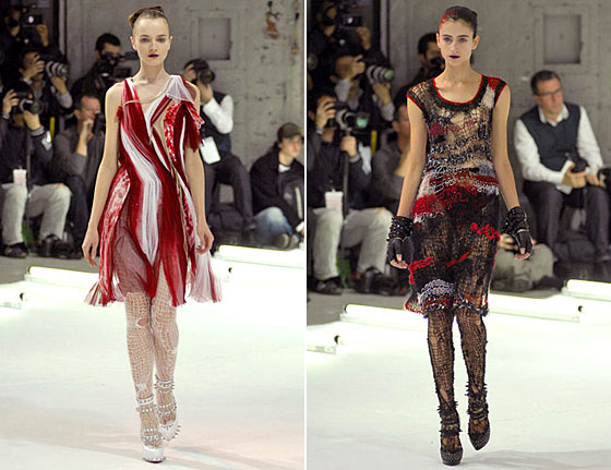 Winner's Circle: Rodarte's Greatest Hits -- The Cut: New York Magazine's Fashion Blog :  cfda 2009 retrospectives rodarte slideshow