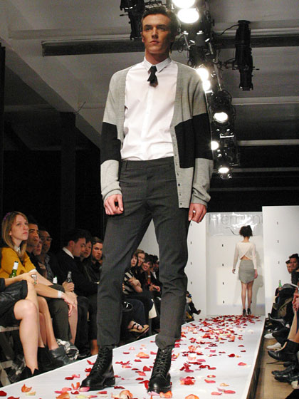 A look from Fremont's fall runway show in Los Angeles, March 2009.