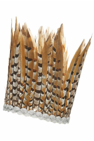 Tan Feather Headdress, $30-40.