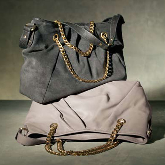Chain-Handle Tote, $225.