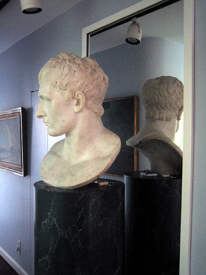 This is a bust of Napoleon by Canova. Every museum in the country would be dying to have this.