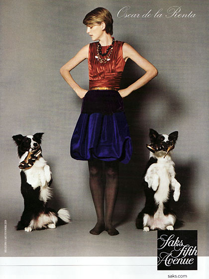 How do you know a store has too much inventory? They feed their Oscar de la Renta shoes to the <em>dogs</em>.
