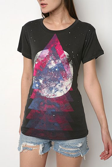 "BDG Mystic Space Crew tee, $24 at <a href=""http://nymag.com/listings/stores/urban_outfitters00/"">Urban Outfitters</a>."